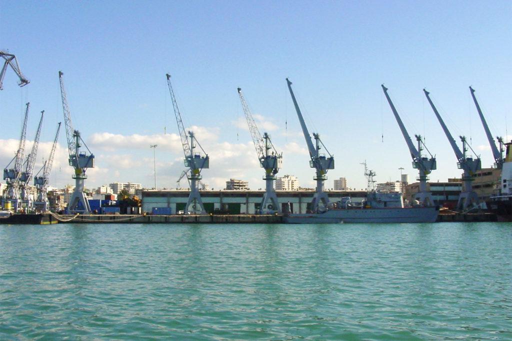 kikötői daruk
