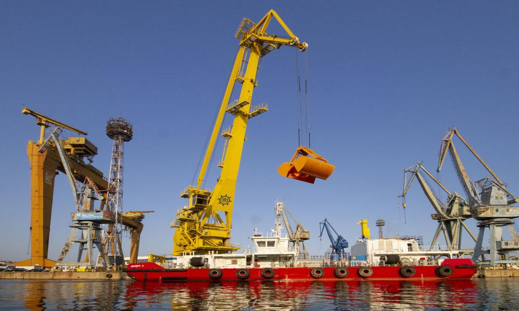 Floating Crane GANZ Expert