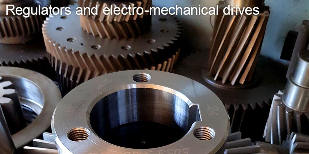 Regulators and electro-mechanical drives