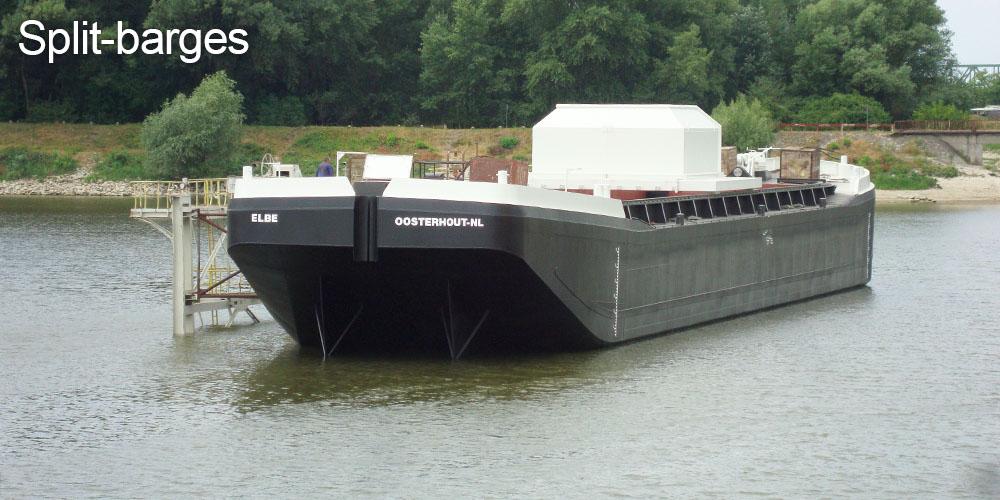 Split Barges